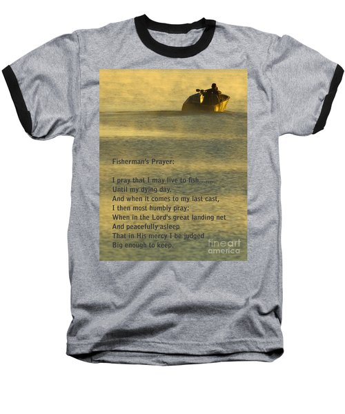 Fisherman's Prayer Baseball T-Shirt