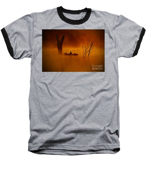 Fishing Among Nature Baseball T-Shirt