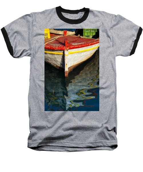 Fishing Boat In Greece Baseball T-Shirt