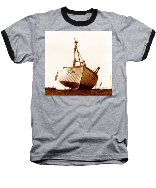 Fishing Boat Baseball T-Shirt by Peter Mooyman