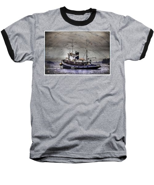 Fishing Boat Baseball T-Shirt