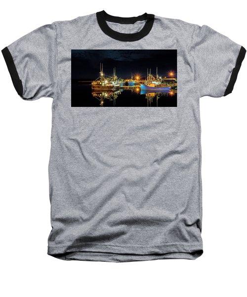 Fishing Hamlet Baseball T-Shirt