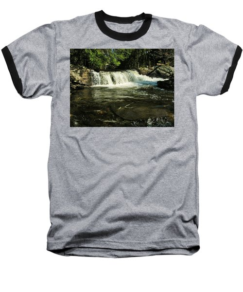 Baseball T-Shirt featuring the photograph Fishing Hole by Sherman Perry