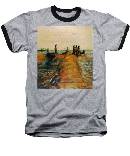 Fishing Near New Haven Baseball T-Shirt