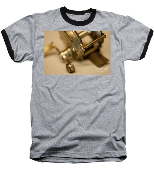 Fishing Reel  Baseball T-Shirt