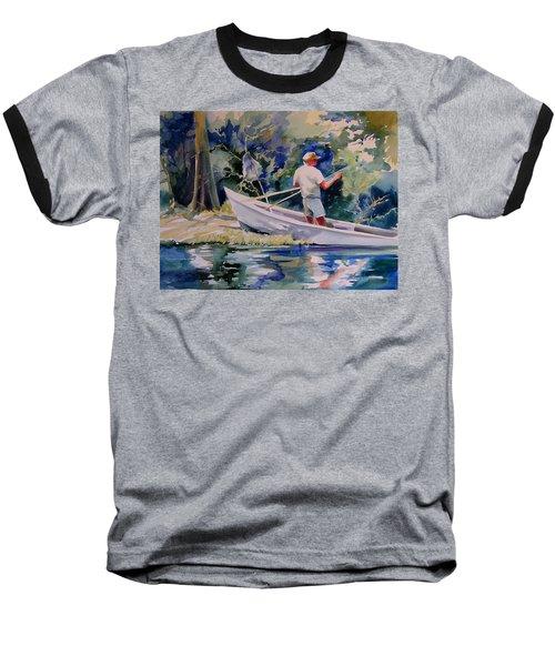Fishing Spruce Creek Baseball T-Shirt
