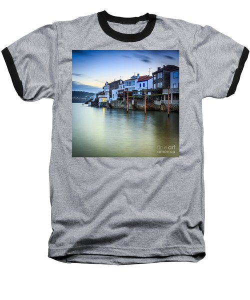 Fishing Town Of Redes Galicia Spain Baseball T-Shirt