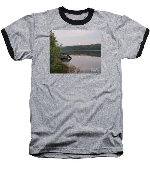 Fishing Tranquility Baseball T-Shirt