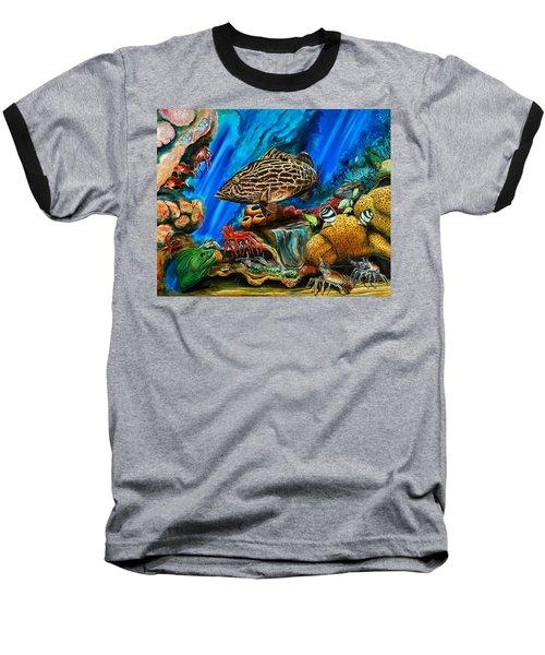 Fishtank Baseball T-Shirt