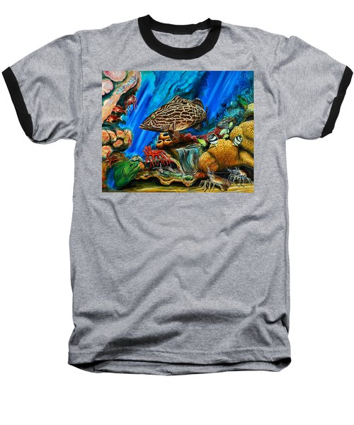 Fishtank Baseball T-Shirt