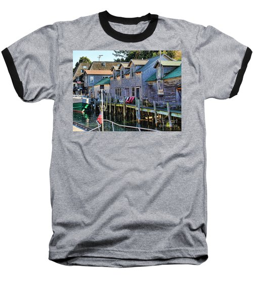 Fishtown Leland Michigan Baseball T-Shirt