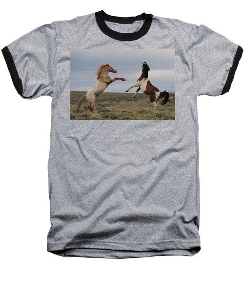 Fist Fight  Baseball T-Shirt