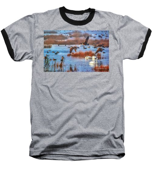 Five Canadians Baseball T-Shirt