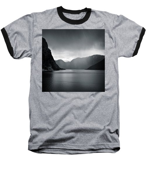 Fjord Rain Baseball T-Shirt