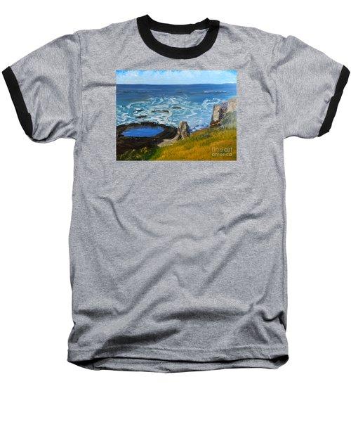 Flagstaff Point  Baseball T-Shirt by Pamela  Meredith