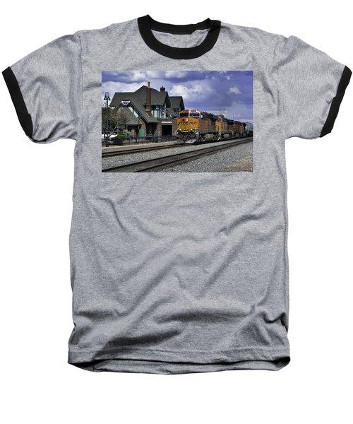 Flagstaff Station Baseball T-Shirt