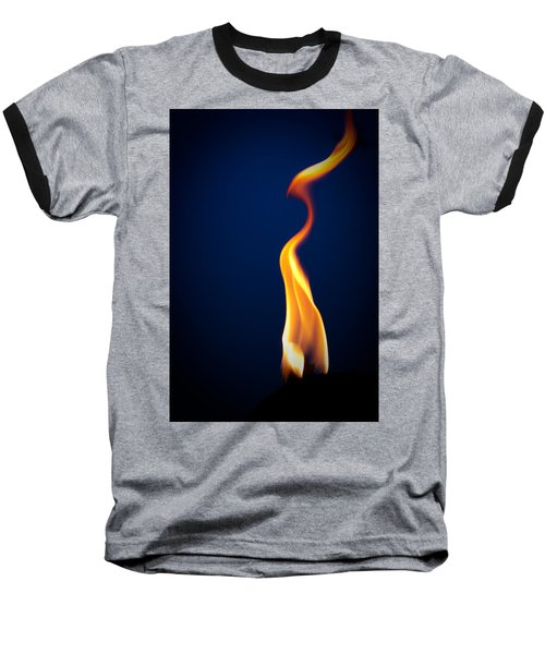 Flame Baseball T-Shirt