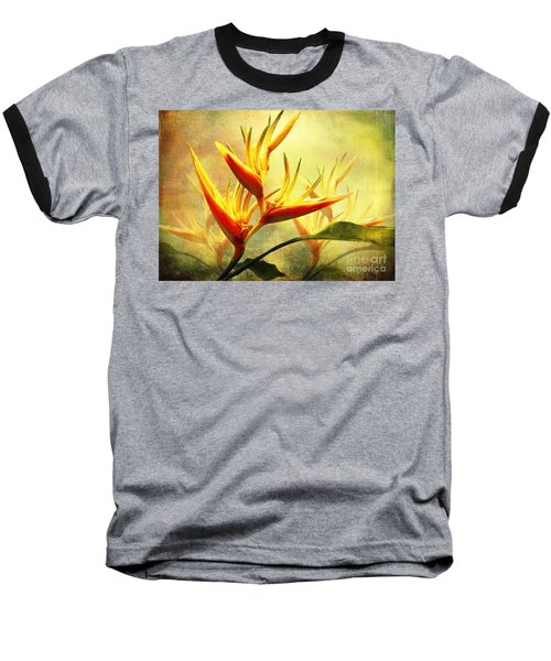 Flames Of Paradise Baseball T-Shirt