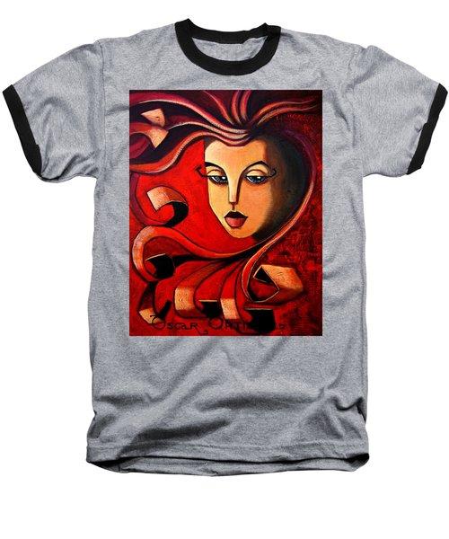 Flaming Serenity Baseball T-Shirt