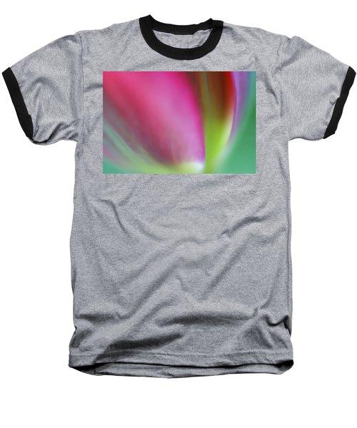 Flaming Tulip Baseball T-Shirt