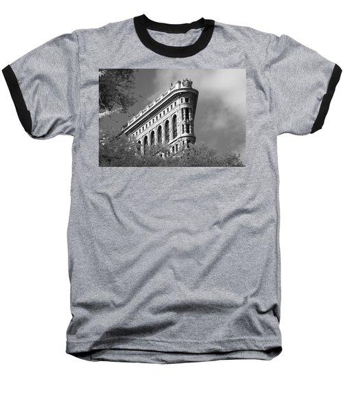 New York City - Flat Iron Prow Baseball T-Shirt