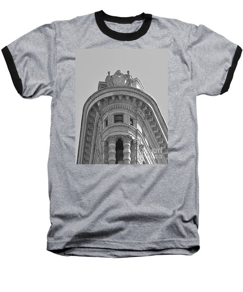 Flatiron Detail Baseball T-Shirt by John Wartman