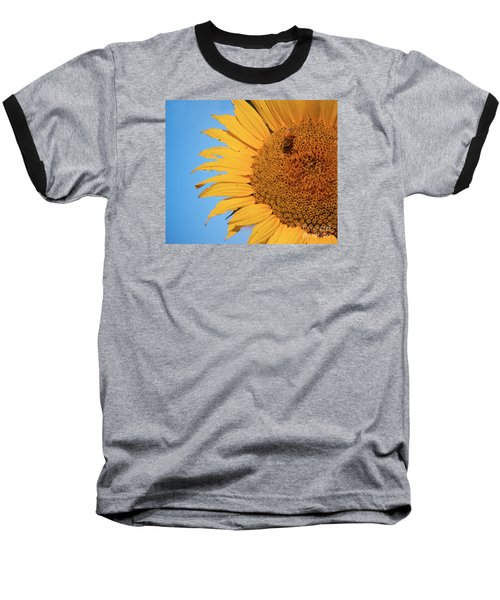 Baseball T-Shirt featuring the photograph Flawed Beauty by Rima Biswas