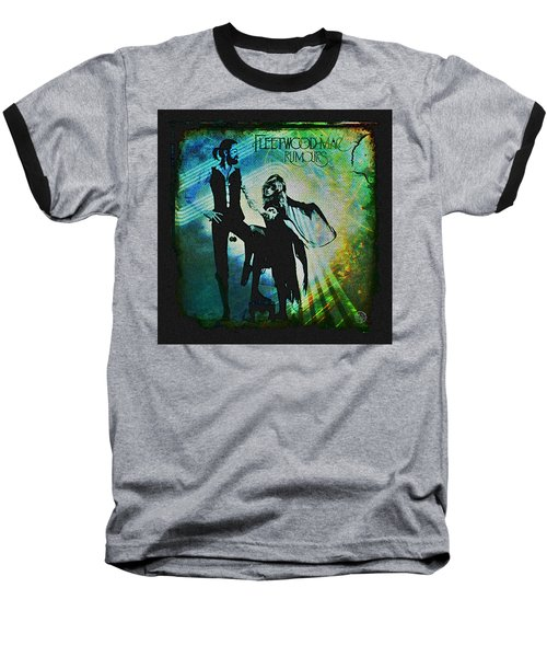 Fleetwood Mac - Cover Art Design Baseball T-Shirt