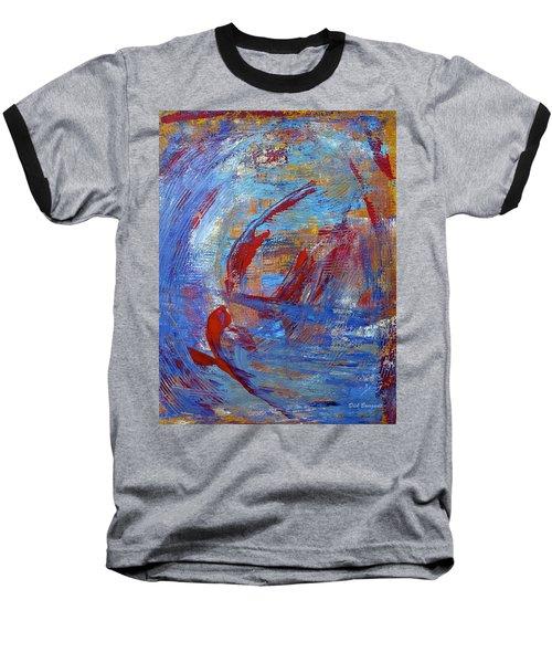 Flight Baseball T-Shirt by Dick Bourgault