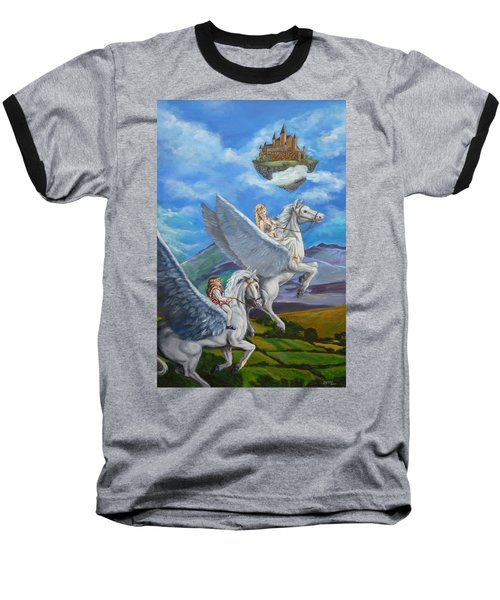 Flights Of Fancy Baseball T-Shirt by Bryan Bustard