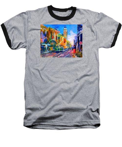 Flinders Street - Original Sold Baseball T-Shirt