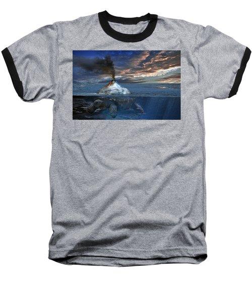 Flint Baseball T-Shirt by Rick Mosher