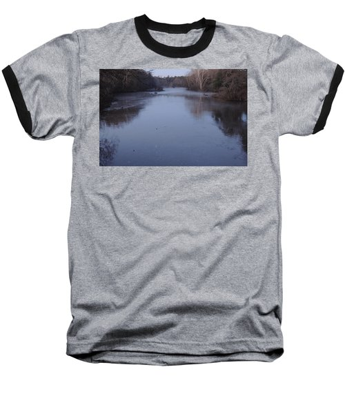 Baseball T-Shirt featuring the photograph Flint River 1 by Kim Pate
