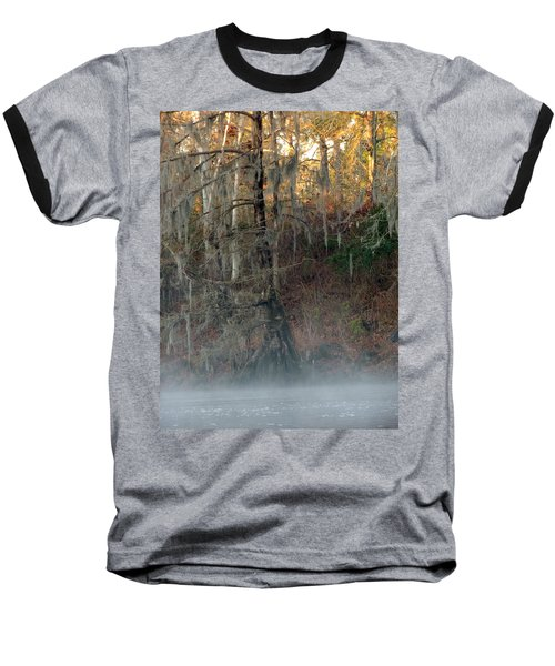 Baseball T-Shirt featuring the photograph Flint River 15 by Kim Pate