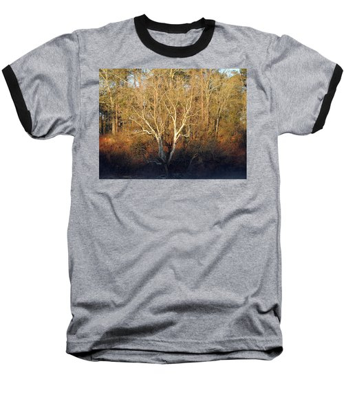 Baseball T-Shirt featuring the photograph Flint River 16 by Kim Pate