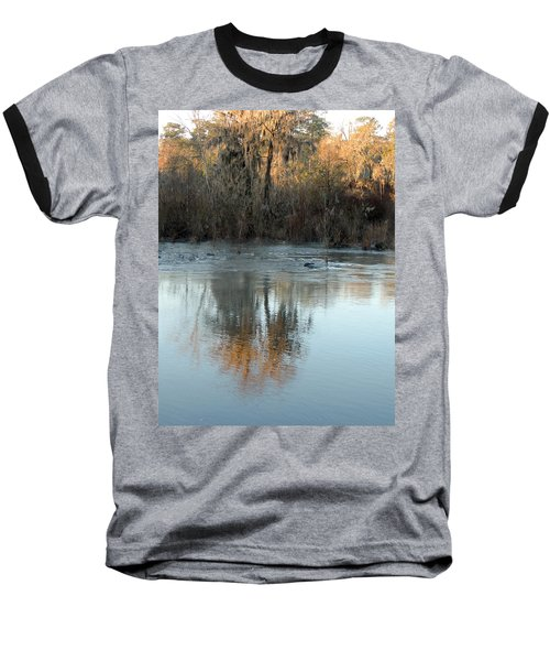 Baseball T-Shirt featuring the photograph Flint River 17 by Kim Pate
