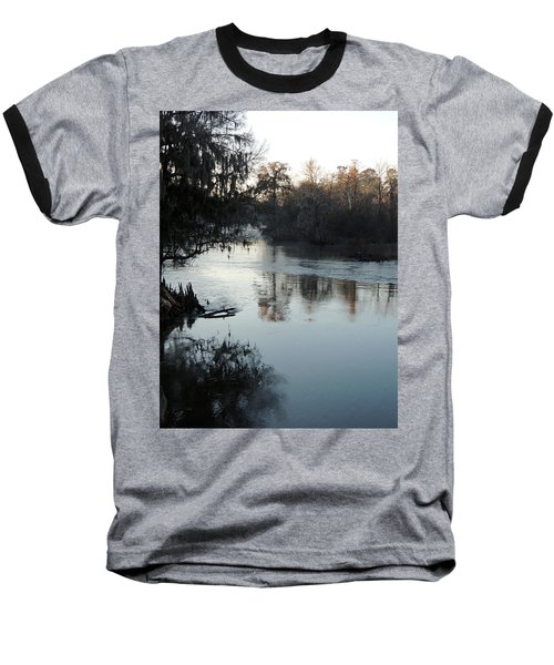 Baseball T-Shirt featuring the photograph Flint River 20 by Kim Pate