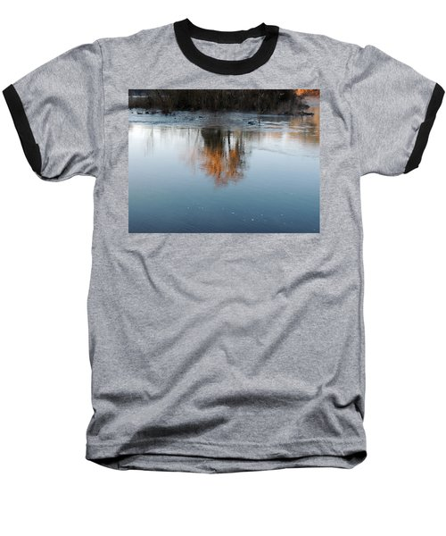 Baseball T-Shirt featuring the photograph Flint River 21 by Kim Pate