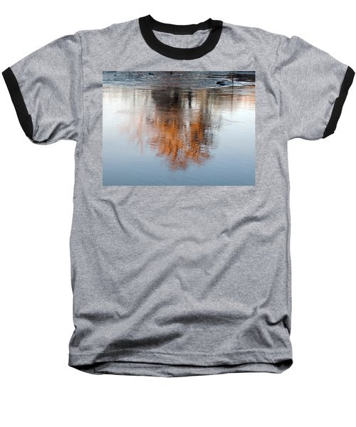 Baseball T-Shirt featuring the photograph Flint River 22 by Kim Pate