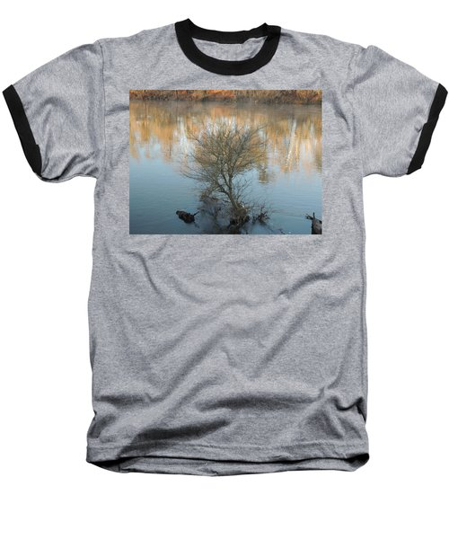 Baseball T-Shirt featuring the photograph Flint River 24 by Kim Pate