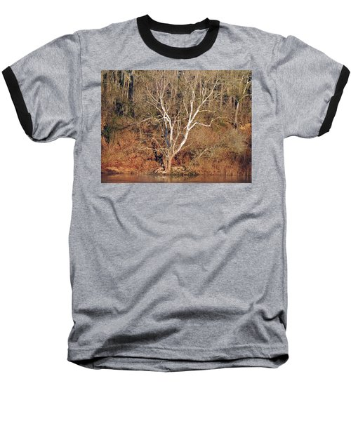 Baseball T-Shirt featuring the photograph Flint River 25 by Kim Pate