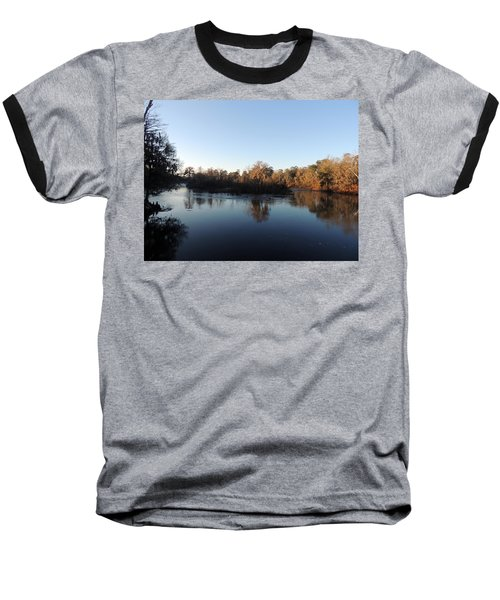 Baseball T-Shirt featuring the photograph Flint River 26 by Kim Pate