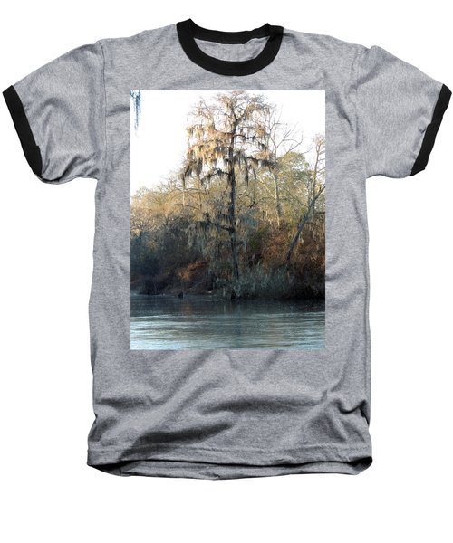 Baseball T-Shirt featuring the photograph Flint River 30 by Kim Pate