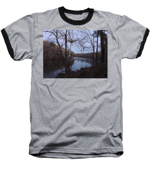 Baseball T-Shirt featuring the photograph Flint River 4 by Kim Pate
