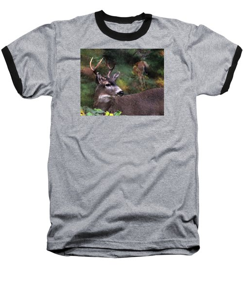 Baseball T-Shirt featuring the photograph Flirt by I'ina Van Lawick