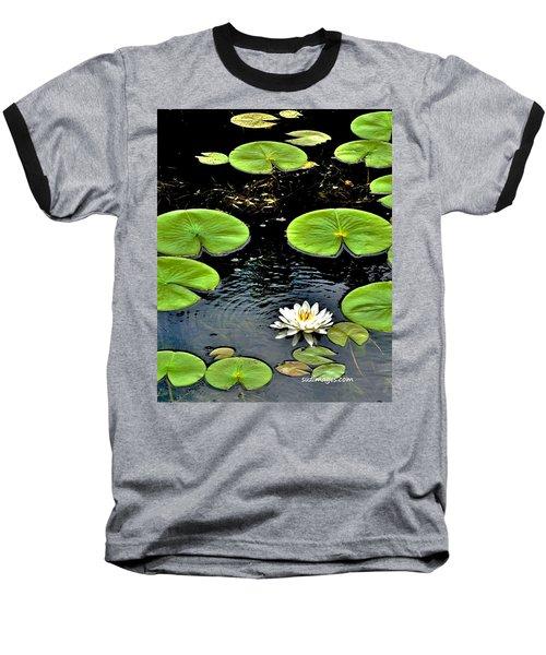 Floating Lily Baseball T-Shirt