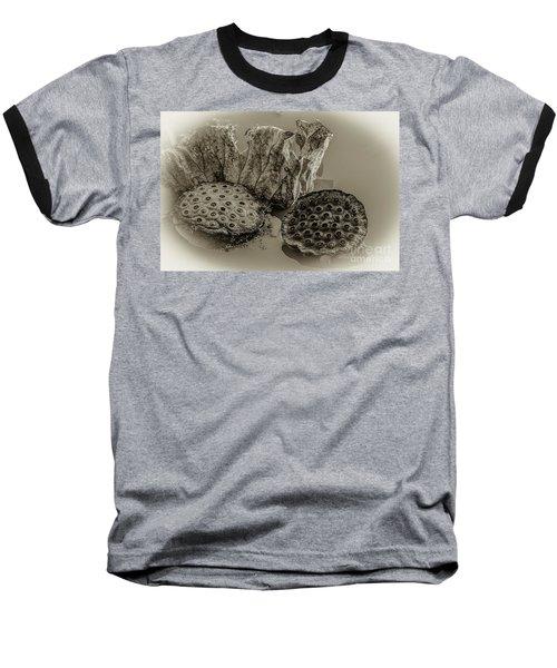 Floating Lotus Seed Pods 2 Baseball T-Shirt