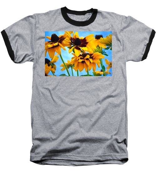 Floral 1 Baseball T-Shirt