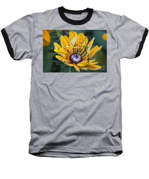 Floral 3 Baseball T-Shirt