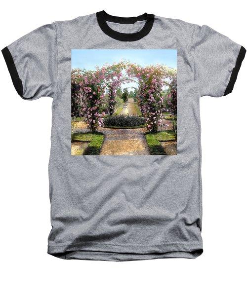 Floral Arch Baseball T-Shirt